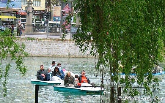 Lake Ariana in Sofia