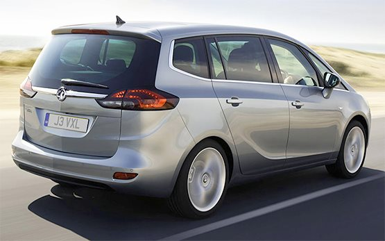 Rear view » 2016 Opel Zafira 6+1 AUTOMATIC