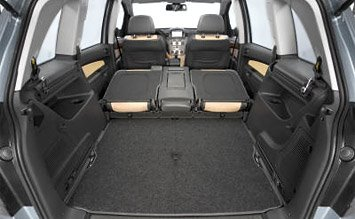 Luggage compartment » 2009 Opel Zafira AUTO