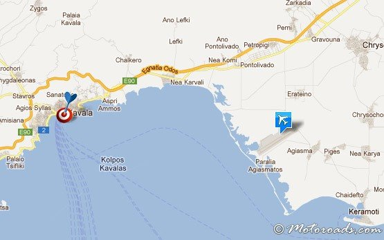 KAVALA AIRPORT Greece