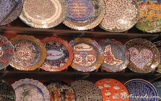 Пазар в квартал Султанахмет в Истанбул