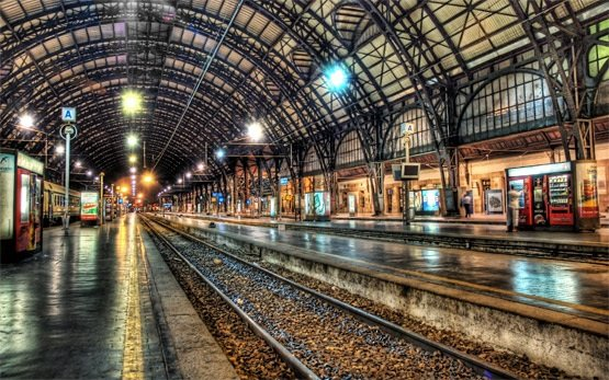 Milan - central railway station