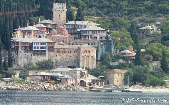 Monastery on Mount Athos, Ouranoupolis