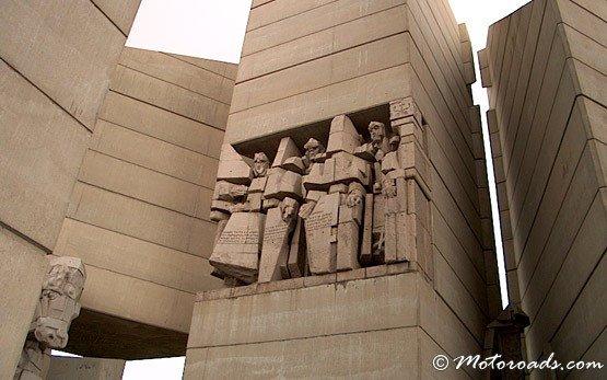 Monument in Shumen