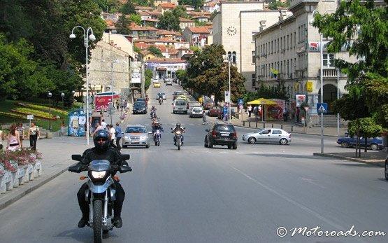 Мотоциклисты -  Велико Тырново