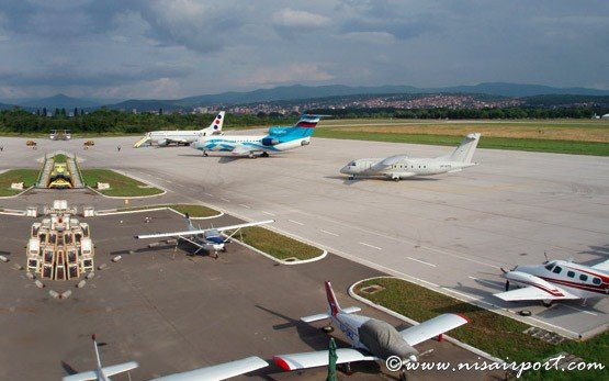 Niš Constantine the Great Airport, Serbia