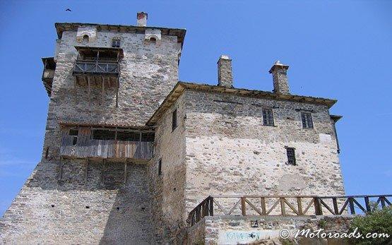 Старата византийска кула - Ouranoupolis