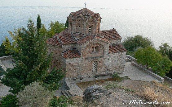 Старая церковь в городе Охрид