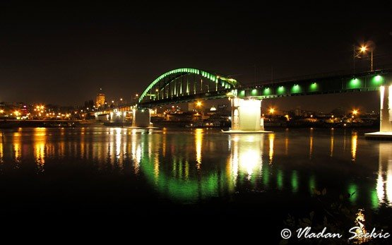 Old Sava Bridge, Belgrade