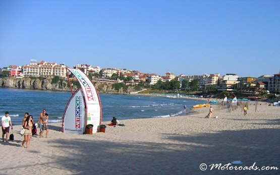 Один из пляжей города Созополя