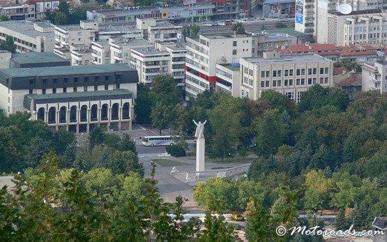 Panorama of Shumen