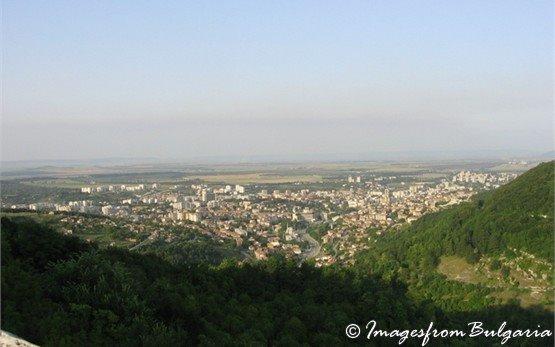 Panorama of Town of Shumen
