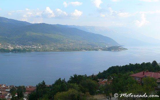 Панорама - озеро Охрид