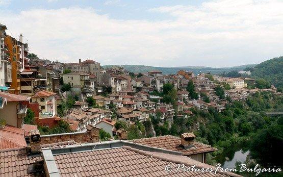 панорама - Велико Тырново