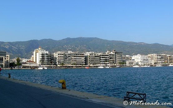 Panorama - port of Volos