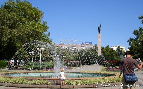 Park in Bourgas