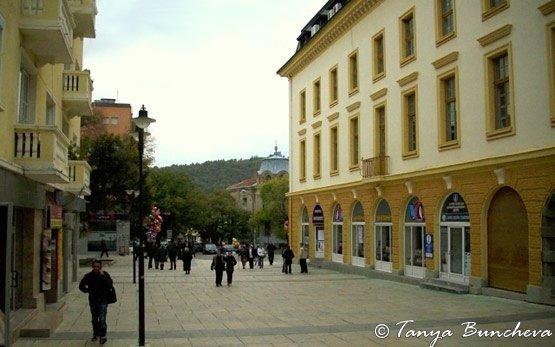 Пешеходная улица - Сливен
