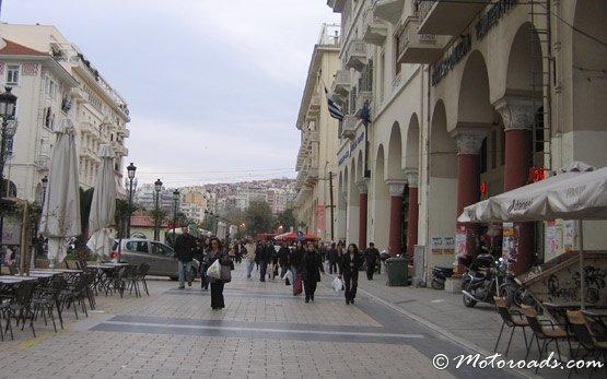 Пешеходная улица - Салоники