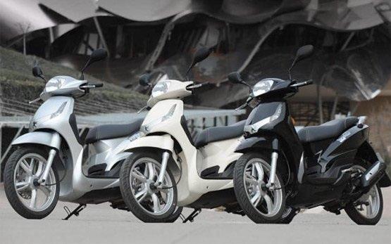 Пежо Твит 125 - аренда скутера в Малаги