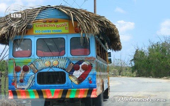 Пунта-Кана - туристический автобус