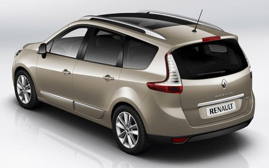 Rear view » 2014 Renault Grand Scenic