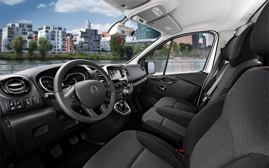 Interior » 2014 Renault Trafic 8+1