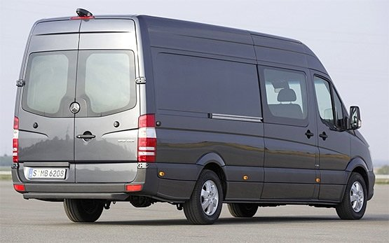 Rear view » 2012 Mercedes Sprinter 14+1