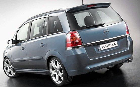 Ruckansicht » 2010 Opel Zafira 6+1 AUTO