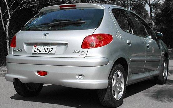 Rear view » 2010 Peugeot 206 1.4 PLUS