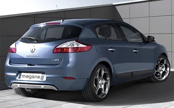Rear view » 2012 Renault Megane Hatchback
