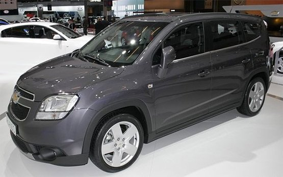 Front view » 2013 Chevrolet Orlando 5+2 seats