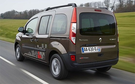 Rear view » 2014 Renault Kangoo