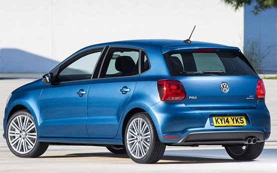 Rear view » 2014 Volkswagen Polo