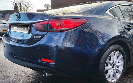 Vista posterior » 2015 Mazda 6 Sedan Auto