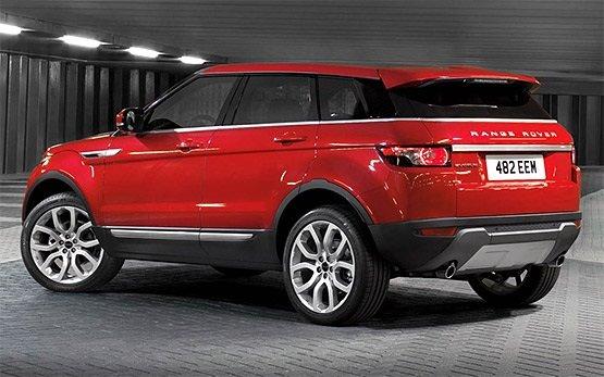 Ruckansicht » 2015 Range Rover Evoque