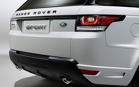 Rear view » 2015 Range Rover Sport