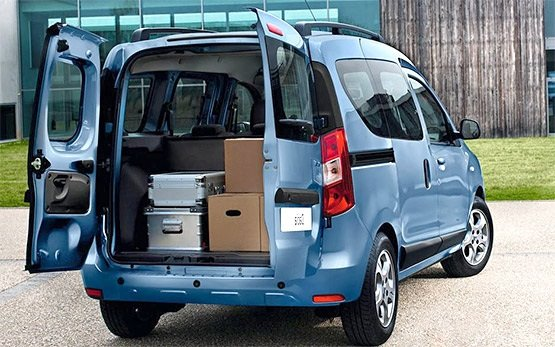Rear view » 2016 Dacia Dokker 1.5 dci