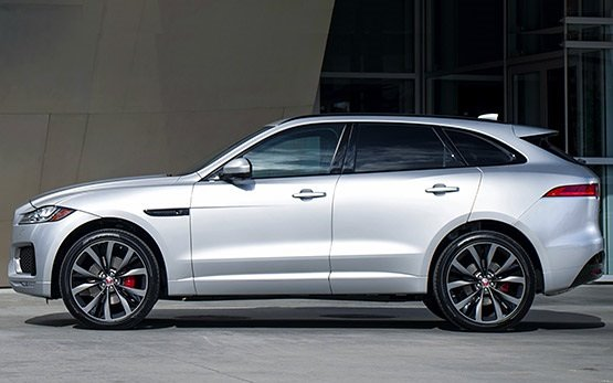 Side view » 2016 Jaguar F-Pace 2.0 D