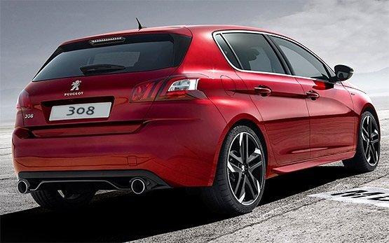 Vista lateral » 2016 Peugeot 308