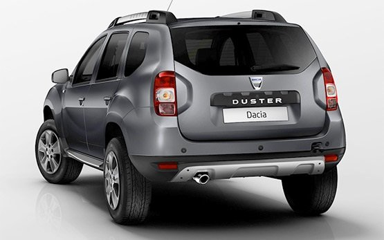 Rear view » 2017 Dacia Duster 1.5 l 4x4