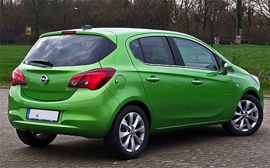 Vista posterior » 2017 Opel Corsa 1.4 l