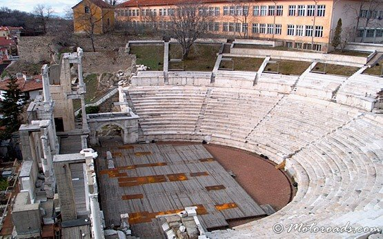 Roman Amphitheatre, Old Town of Plovdiv