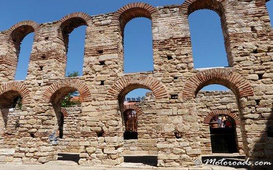 Руины - Несебр - Старый город