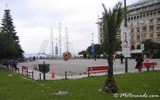 Морe -  Салоники