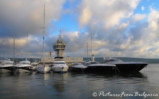 Sea Port in Varna
