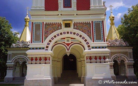 Шипка мемориальной церкви