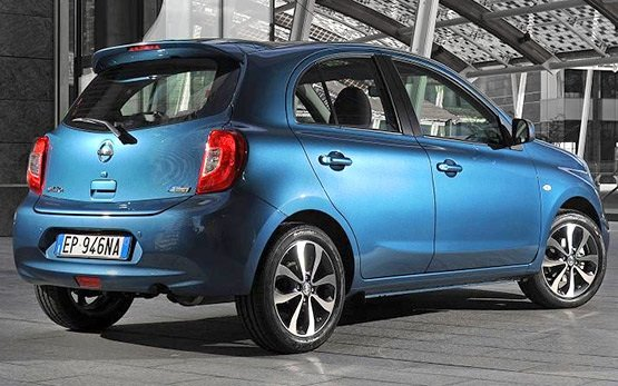 Side view » 2014 Nissan Micra Auto