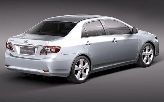 Side view » 2012 Toyota Corolla auto