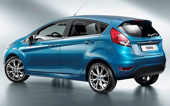 Side view » 2013 Ford Fiesta 1.4 tdi
