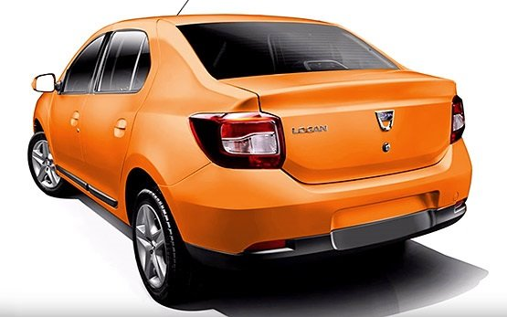 Side view » 2015 Dacia Logan 1.5 D